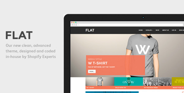 ThemeForest Flat Responsive Shopify Theme 6851951