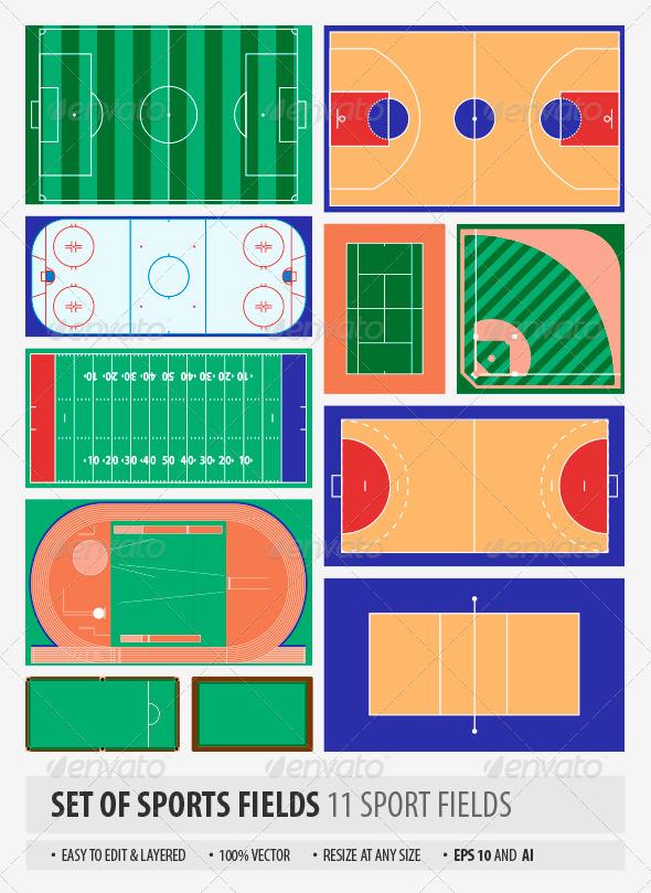 GraphicRiver Sport Fields 6863672