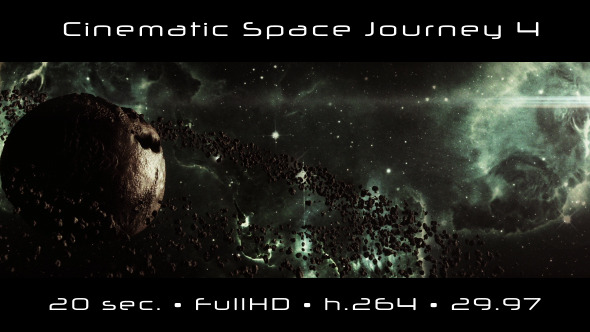 Cinematic Space Journey 4