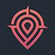 Pin Place Logo Template