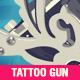 Tattoo Gun Illustration - GraphicRiver Item for Sale