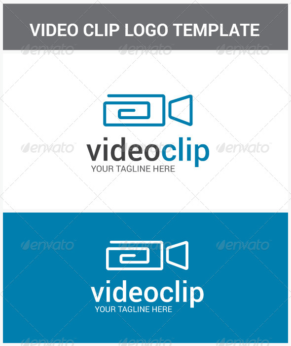 GraphicRiver Video Clip Logo 6859262