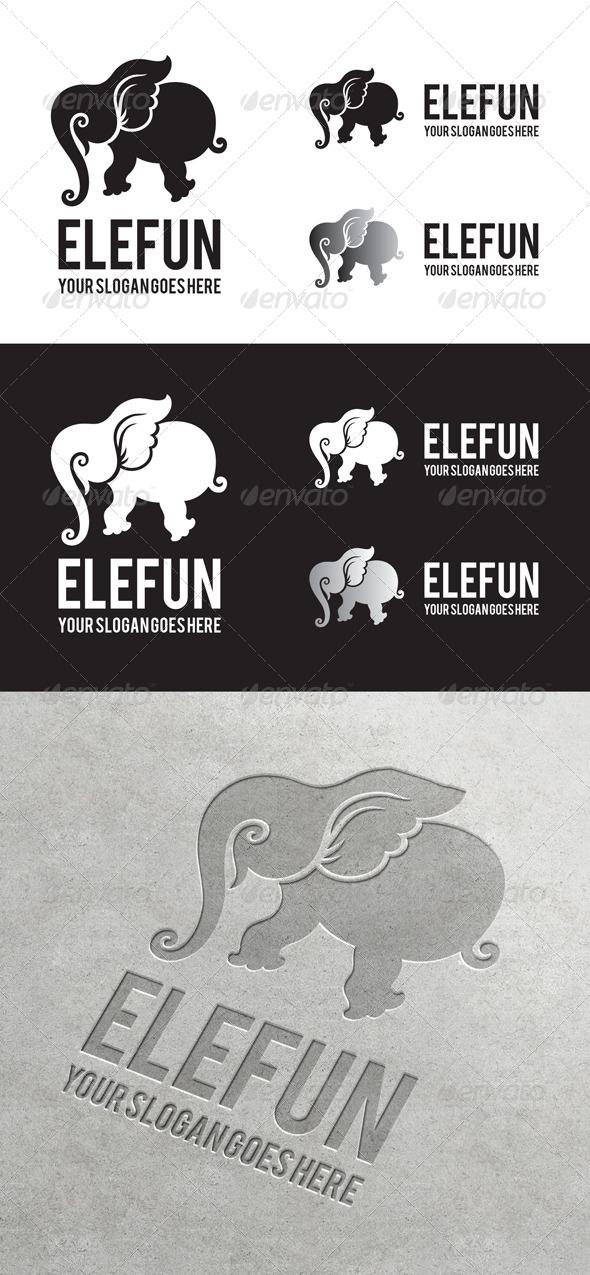 GraphicRiver Elefun Logo 6864864