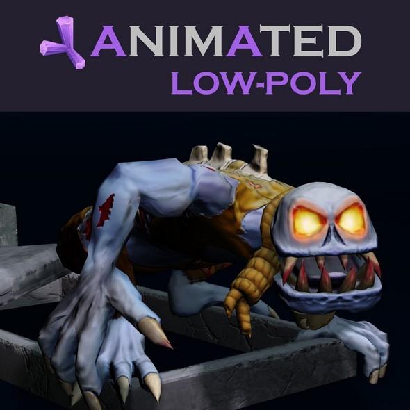 3DOcean Zombie Ghoul 6864879