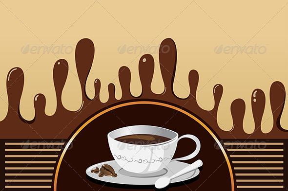 GraphicRiver Coffee Mug Background 6865436