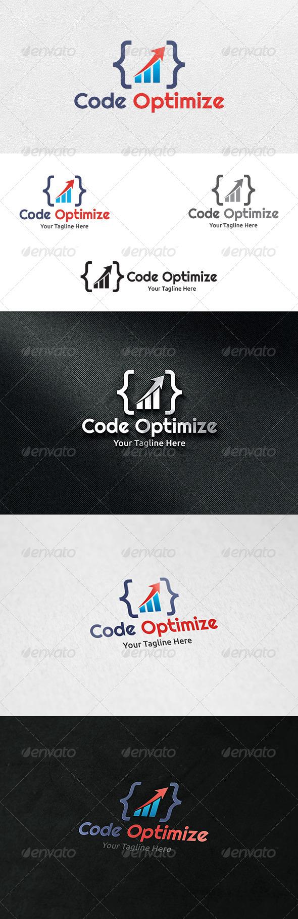 GraphicRiver Code Optimize Logo Template 6865831