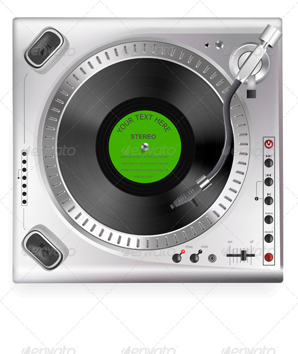 GraphicRiver Turntable 6859631