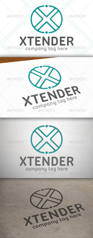 GraphicRiver X Letter Logo 6865923
