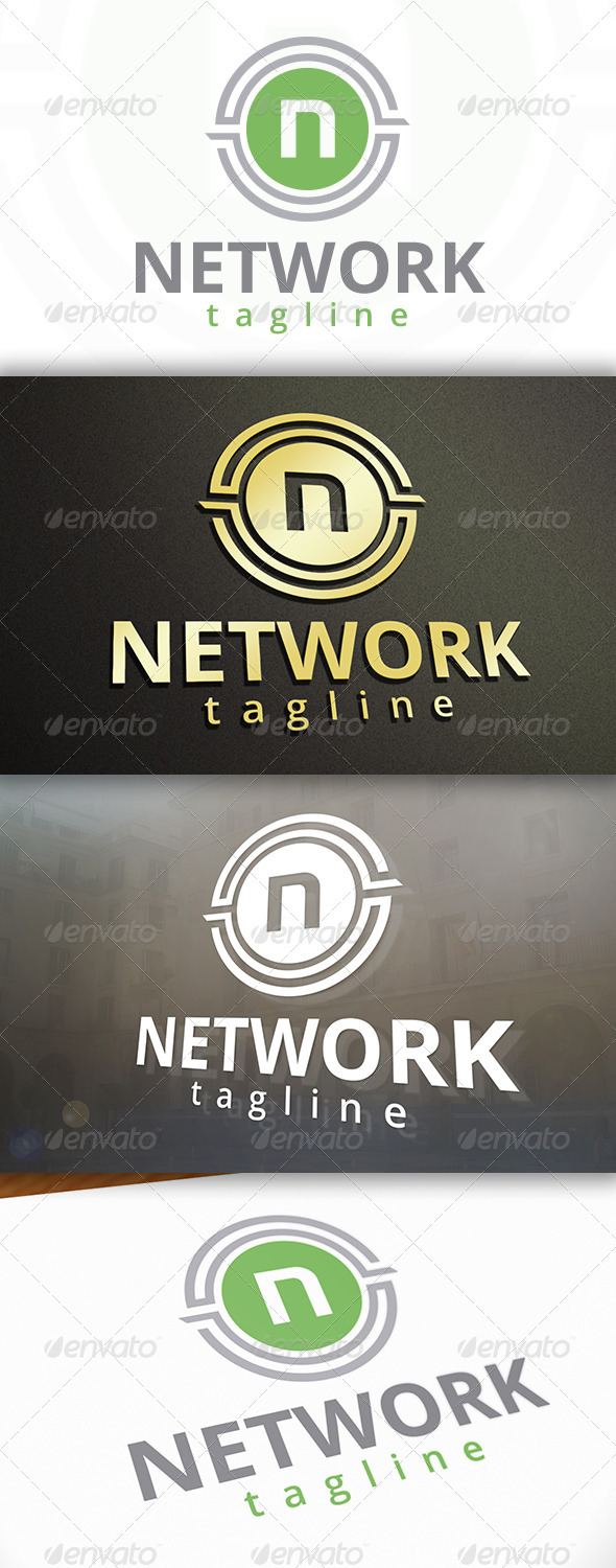 GraphicRiver Network Logo 6866218