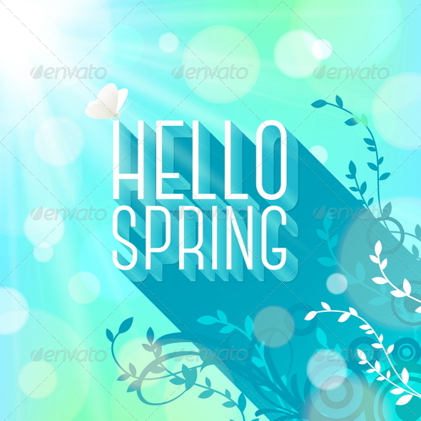 GraphicRiver Spring Greeting 6867243