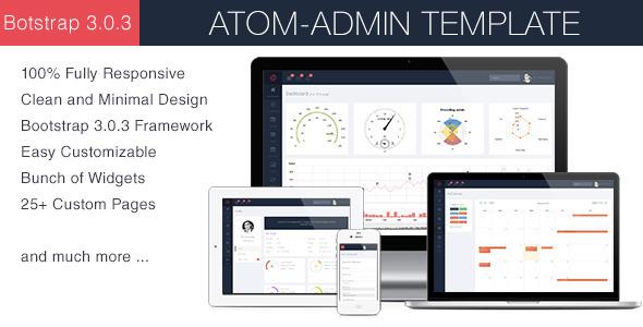 ThemeForest Atom Admin Template 6867325