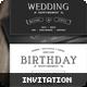 Vintage Invitation - GraphicRiver Item for Sale
