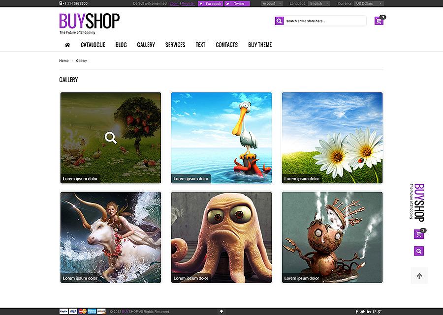 BuyShop - Premium Responsive Retina HTML Template