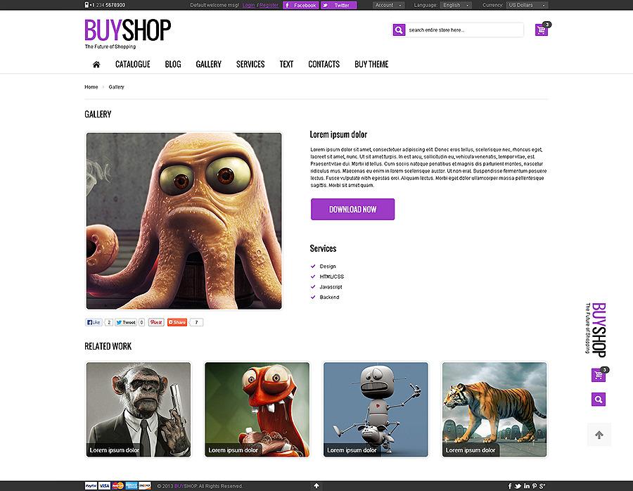 BuyShop - Premium Responsive Retina HTML theme