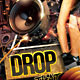 Drop That Bass PSD Flyer - GraphicRiver Item for Sale