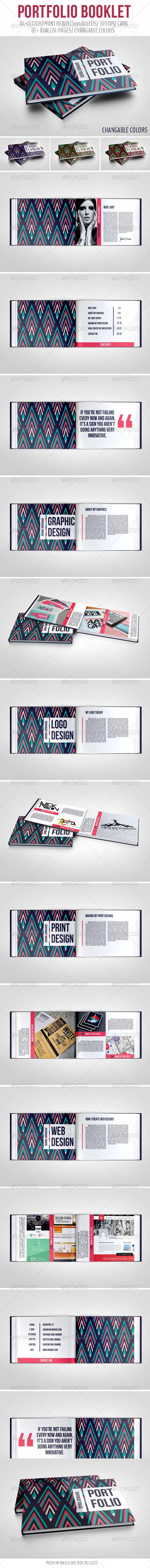 GraphicRiver Portfolio Booklet 6867696