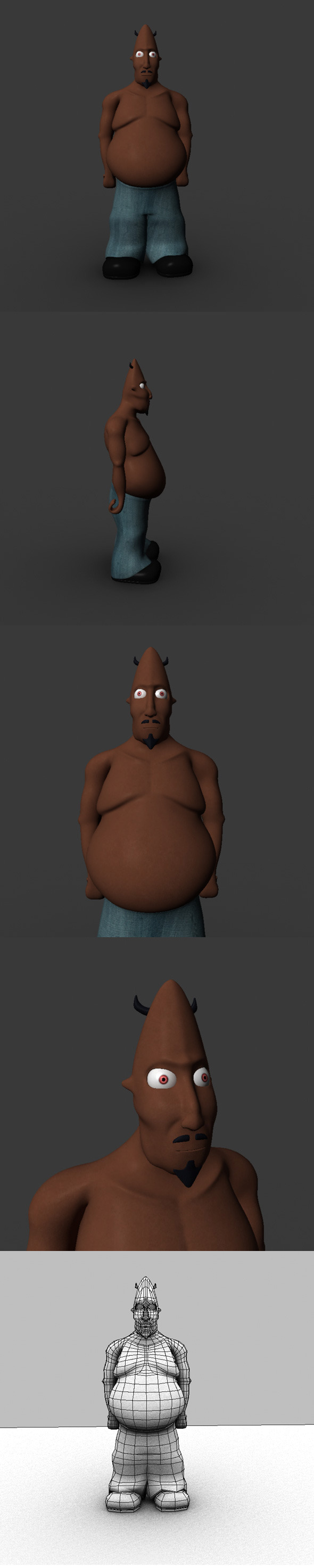 3DOcean Low Poly Cartoon Character 6867779