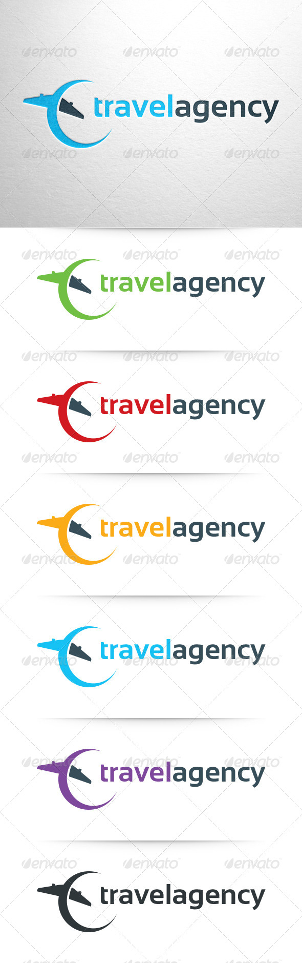 GraphicRiver Travel Agency Logo Template 6868257