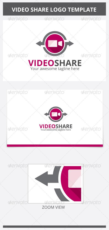 GraphicRiver Video Share Logo 6869327