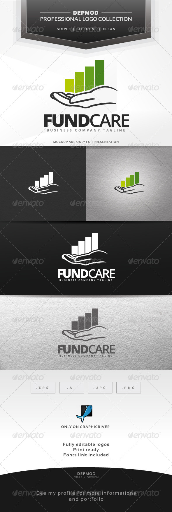 GraphicRiver Fund Care Logo 6869394