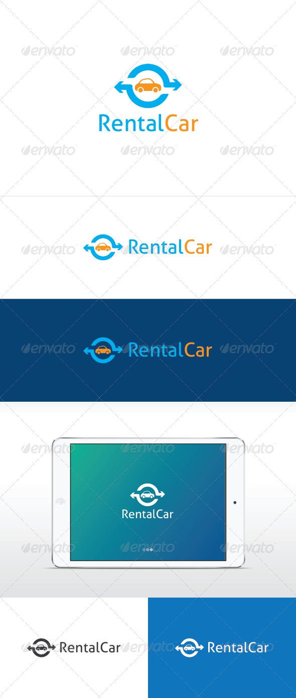 GraphicRiver Rental Car 6869533