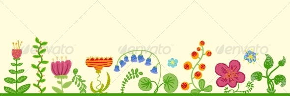 GraphicRiver Floral Background 6869693