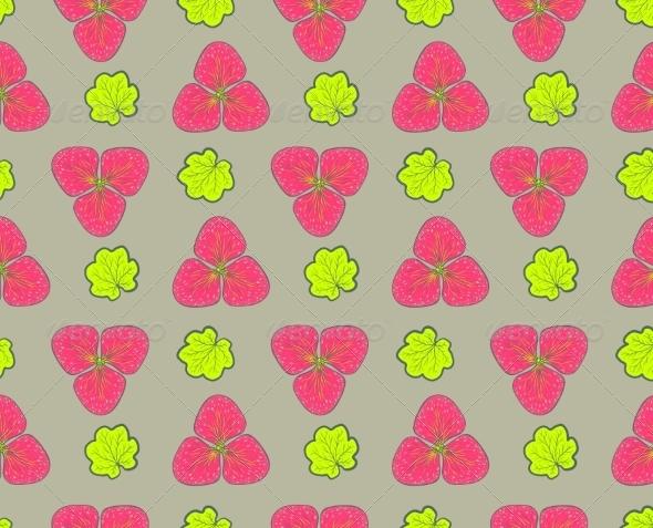 GraphicRiver Retro Floral Background 6870044