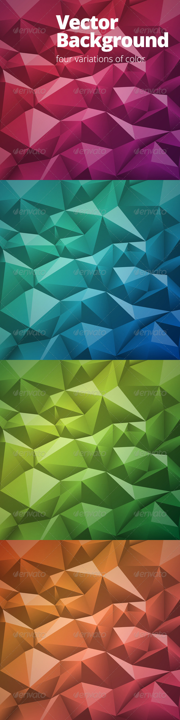 GraphicRiver Abstract Geometric Background 6870195