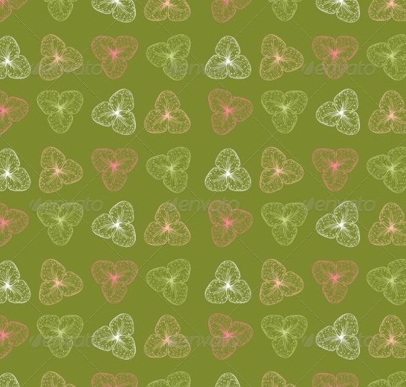 GraphicRiver Retro Floral Background 6870224