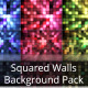 Squared Walls Background Pack - VideoHive Item for Sale