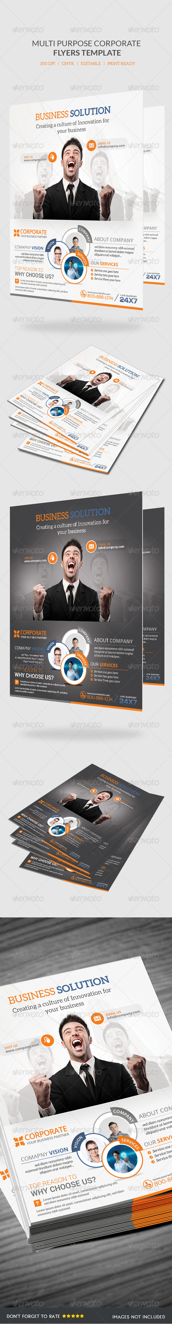 GraphicRiver Business Flyer Template 6870247