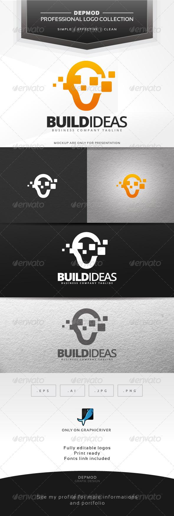 GraphicRiver Build Ideas Logo 6870391