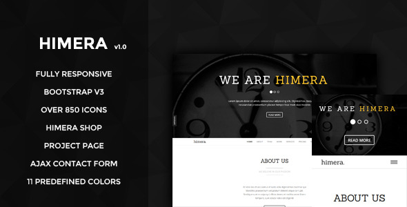 Himera - One Page Multipurpose Template