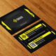 Hi Tech Corporate Business Card AN0097 - GraphicRiver Item for Sale
