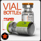 Vial Bottles Mock Up - GraphicRiver Item for Sale