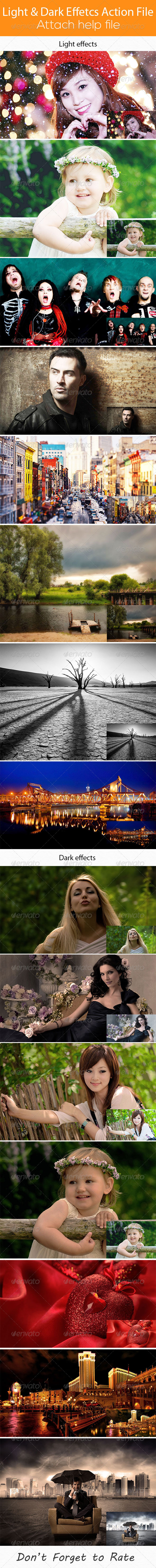 GraphicRiver Light & Dark Photo Action 6871409