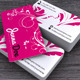 Flower Power Business Card - GraphicRiver Item for Sale