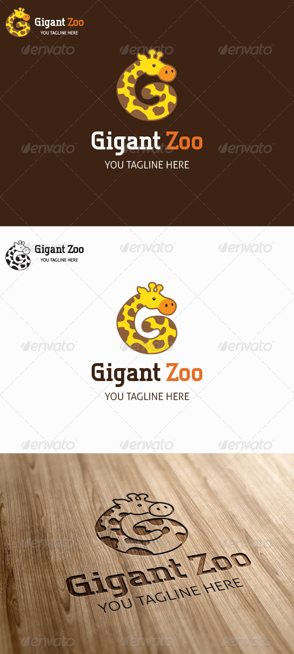 GraphicRiver Gigant Zoo Logo Template 6871851