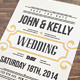 Elegant & Vintage Wedding Invitation - GraphicRiver Item for Sale