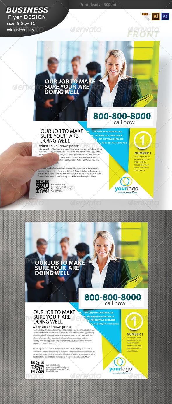 GraphicRiver Business Handout Design 6872142