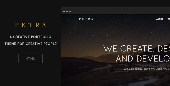ThemeForest Petra Creative One-Page HTML Template 6872678