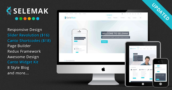SeleMak is a WordPress theme, which is specially build for corporate and business website. This theme providing lot of customization options. Also it's h