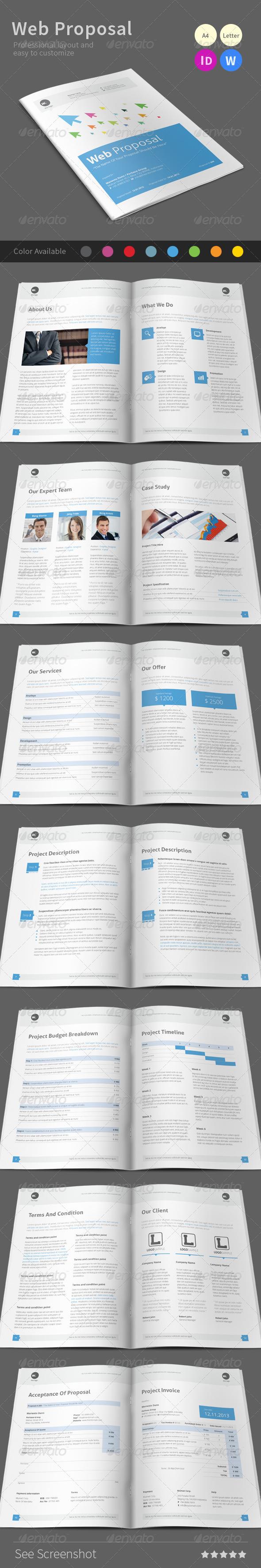 GraphicRiver Web Proposal 6863078