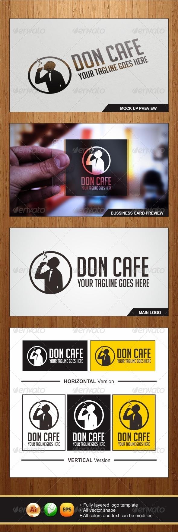 GraphicRiver Don Cafe Logo 6873211