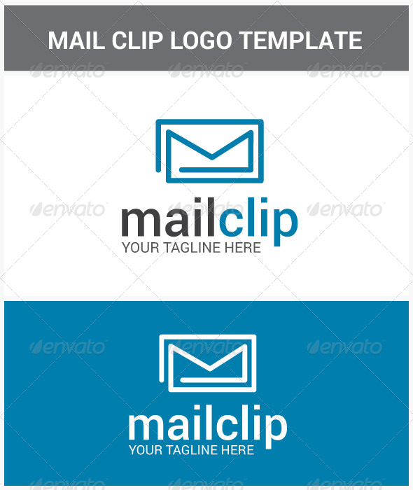 GraphicRiver Mail Clip Logo 6873215
