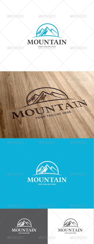 GraphicRiver Mountain Logo 6873550