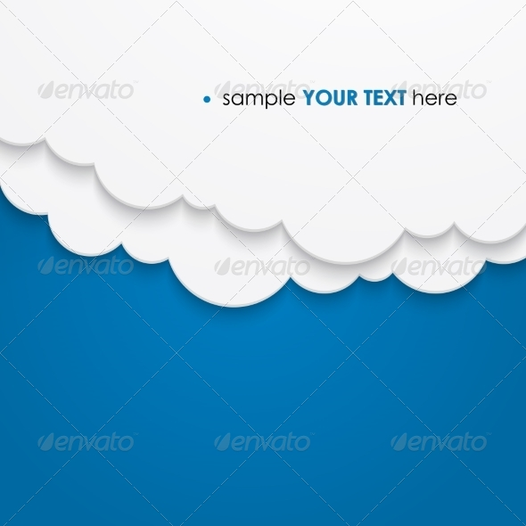GraphicRiver Abstract Cloud Background 6873552