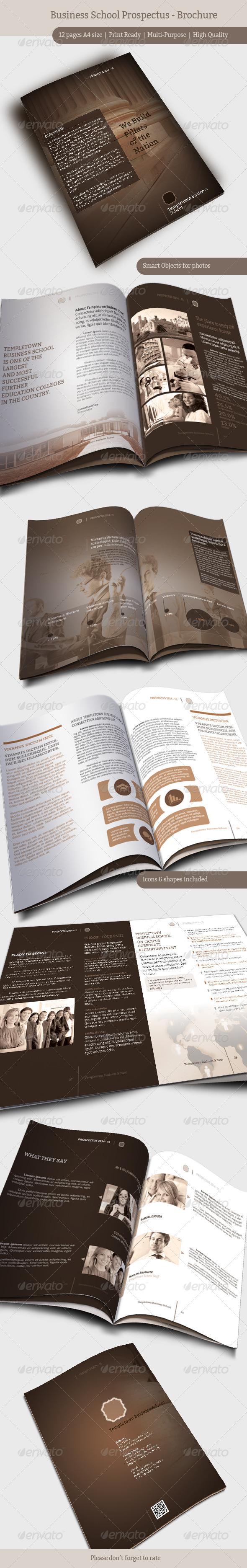 GraphicRiver Business School Prospectus Brochure 6873576