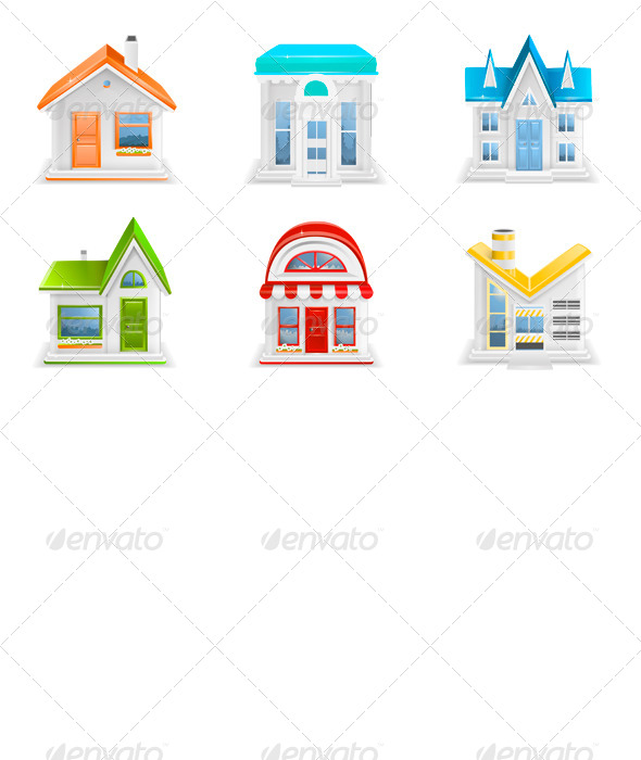 GraphicRiver Building Icons 6699215