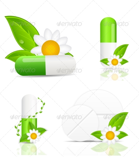 GraphicRiver Herbal Pills 6874173